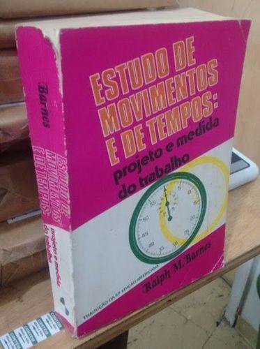 Estudo de Movimento e de Tempos - 6ª Edição