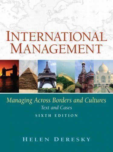 International Management (6th Edition)